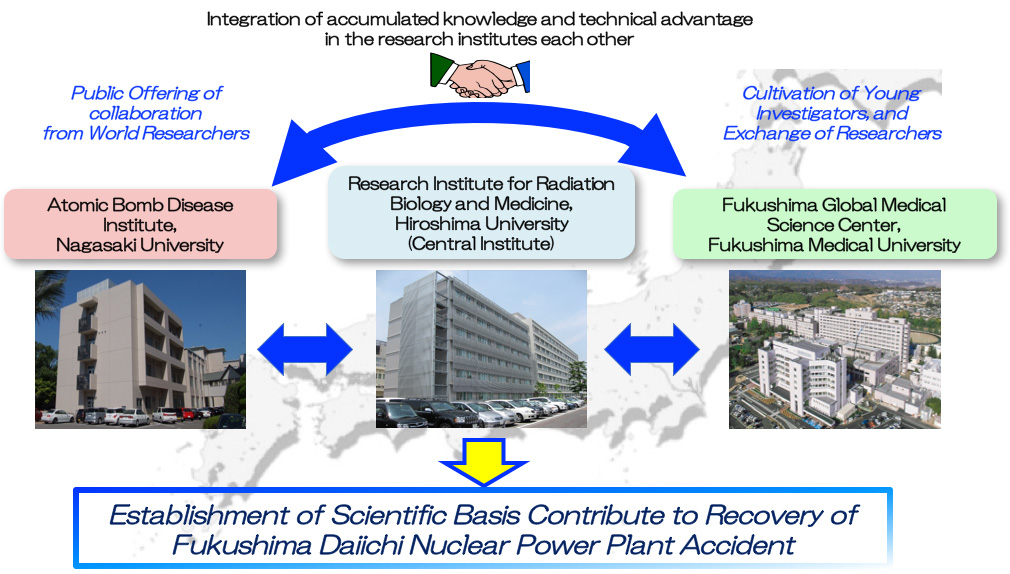 Integration of accumulated knowledge and technical advantage      in the research institutes each other